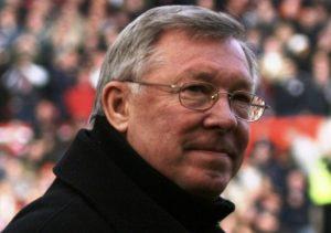 Photograph of Sir Alex Ferguson, Coach of Manchester United F.C.
