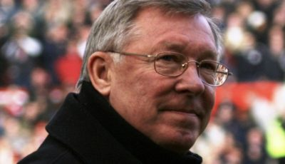 Photograph of Sir Alex Ferguson, Coach of Manchester United F.C.